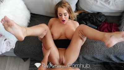 PUREMATURE Controlling step mom Corrina Blake anal fucked by step son