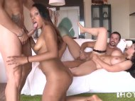 The Swinger Experience Presents Brazilian Booty Girls Riding Dick