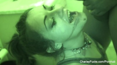 Night vision fucking with super hot Charley Chase