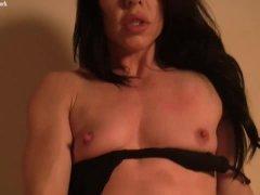 Fit Porn Star Gives Her Man A Handjob