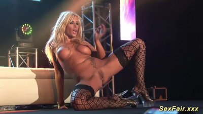 german stepmom naked on stage