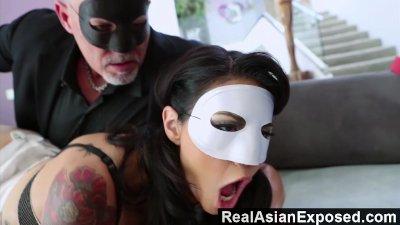 RealasianExposed - Dana Vespoli really wants her butt hole taken care of