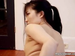 Blasting The Asian Babe Who Is A Bit Shy