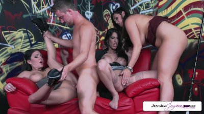 Jessica Jaymes Dava Foxx Alison Tyler Fuck The Painter