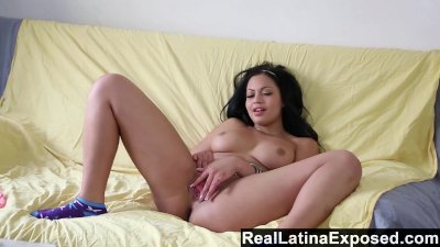 RealLatinaExposed - Karissa is an expert at pleasing her pussy
