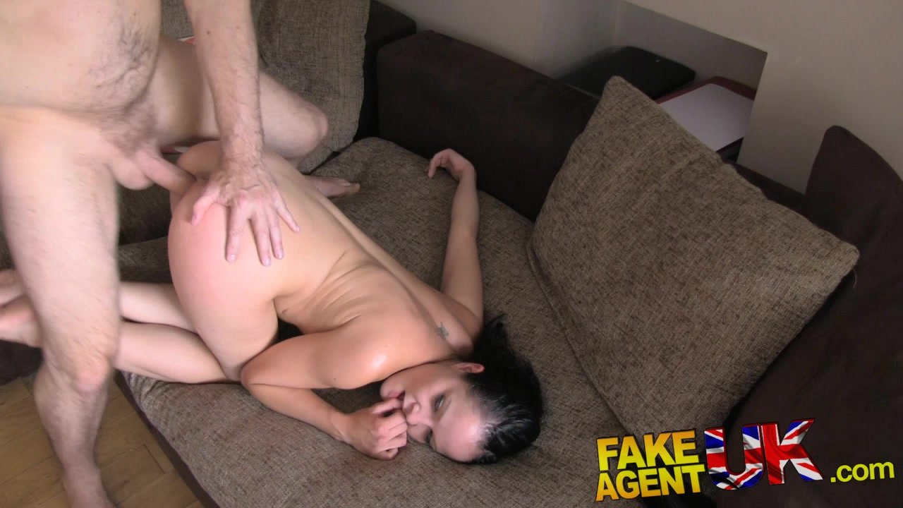 Fake Agent UK Hungarian babe shows great blowjob skills in adult casting