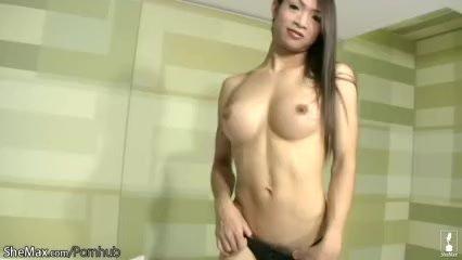 Feminine/masturbate/beautiful lingerie ladyboy black perfect