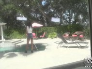 The Pool Girl Goes Wild