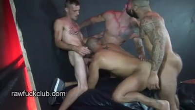Leo Forte Gang Fucked