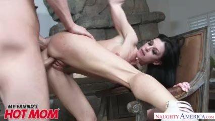 MILF India Summer heats up her son's friend's big dick - Naughty America