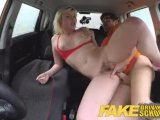 fake driving school back seat pussy squirting and creampie for art studentPorn Videos