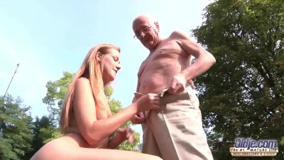 : Young Old Porn Beautiful Teen Giving Blowjob and fucked by grandpa ...