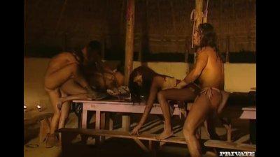 Latinas Orgy