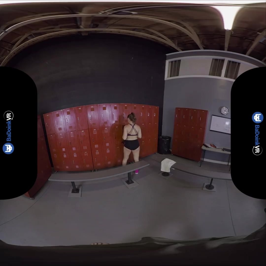 VR Porn Sneaking Into Girls Locker Room On BaDoinkVR
