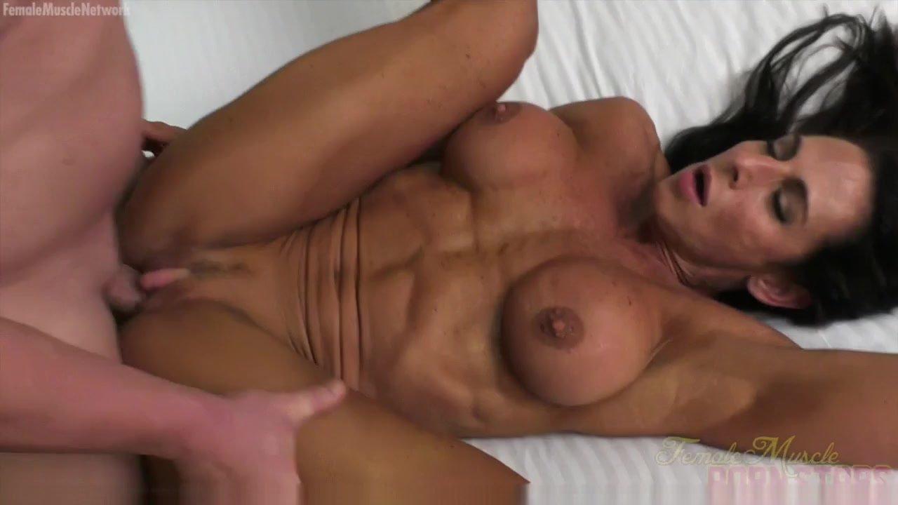 Female Bodybuilder Fucks Her Boyfriend Briana Beau