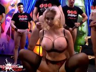 The Swinger Experience Presents Super busty Pornstar Chessie Kay tries her first German gangbang