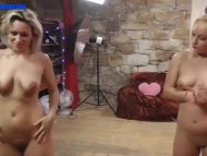 The Swinger Experience Presents Double blondie dance and fuck
