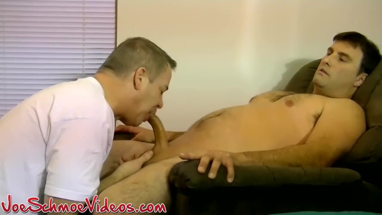 Naughty Chuck is ready for some sweet dick sucking action