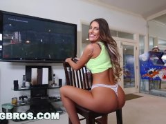 BANGBROS – Video Gamer Chick August Ames Takes A Monster Fucking!