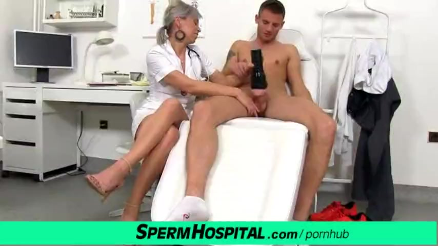Preview 7 of Cfnm Penis Medical Checkup With Gorgeous Czech Milf Doctor Beate