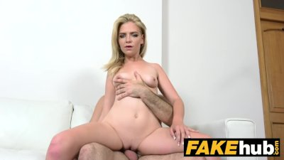 Fake Agent - Shy Euro Model Sucks and Fucks before Big Facial