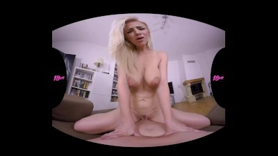 18VR Anal Experience With Busty Nathaly Cherie VR Porn