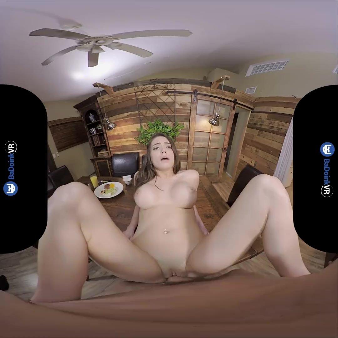 BaDoinkVR.com POV Of Big Titted Ashley Anderson Cock Riding