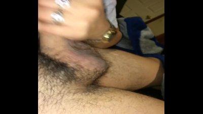 Sexy Latina gives first blowjob on camera