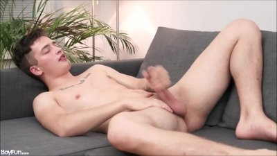 Solo Gay Ass and Jerks Him Off