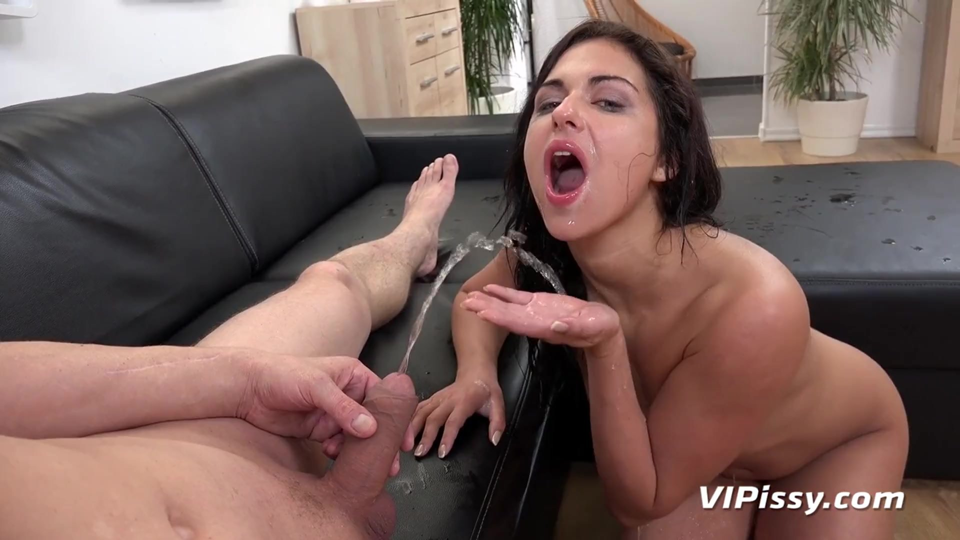 Vipissy - Jessica Lincoln gets drenched in this pissing porn video