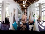 badoinkvr.com amazing group sex - a 360? experience with august amesPorn Videos