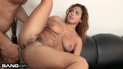 BANG Casting - Keisha Grey Has Her First Rough Anal Fuck