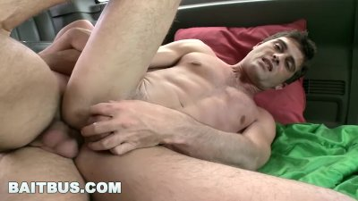 BAITBUS - Lance Hart Wants To Be Fucked By Josh Hodges in Public!