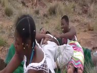 The Swinger Experience Presents african outdoor groupsex orgy