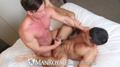 ManRoyale Blind fold fuck with Alexander Volkov and Ty Mitchell