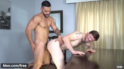 Men.com - Arad Winwin and Dennis West - Soap Studs Part 1 - Drill My Hole