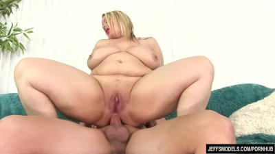 Big tittied blonde Sinful Samia sodomized