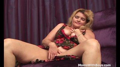 Mature Big Tit Mom Anal Sex