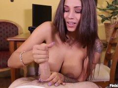 watch my amateur wife masturbate