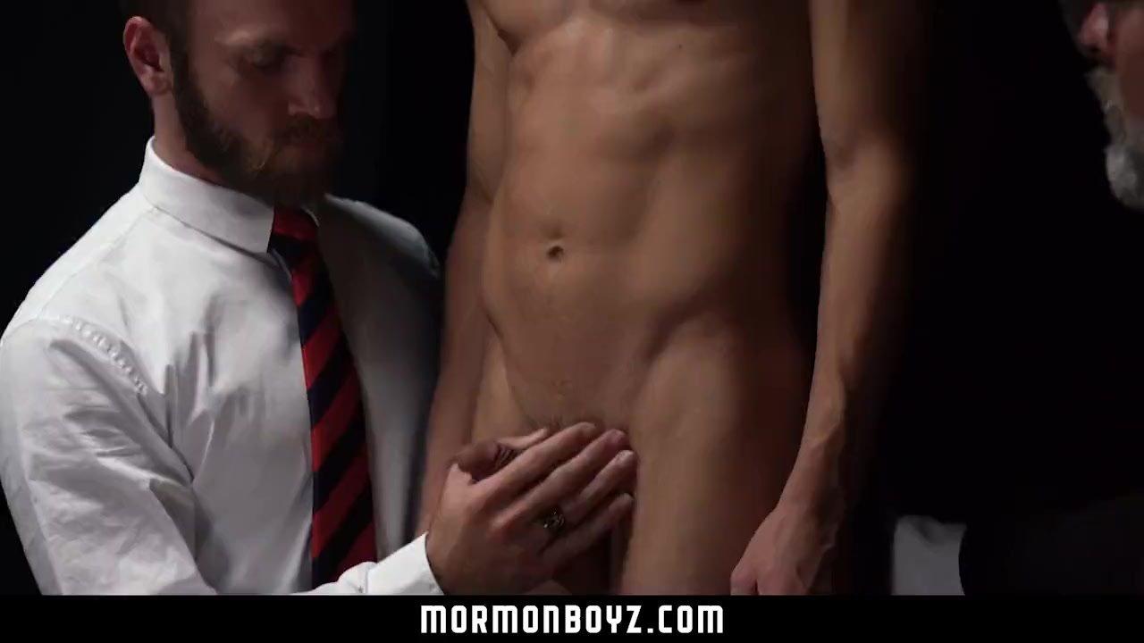 MormonBoyz - Young bubble butt bottom tortured by butt plugs
