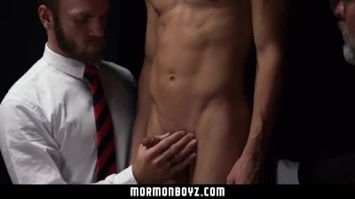 MormonBoyz - Young bubble butt bottom tortured by butt plugs