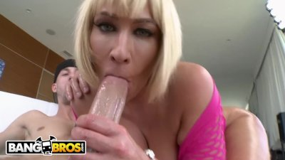 BANGBROS - MILF Mellanie Monroe Gets Her Big Ass Fucked on PAWG