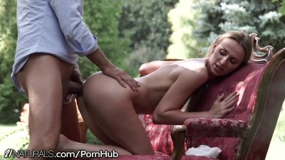 Natural Female Beauty Erotic anal Creampie