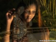 Cascading Waterfall indian Babe From asian