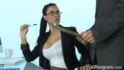 Killergram Hot Milf Jasmine Jae plays the sexy office slut secreatary