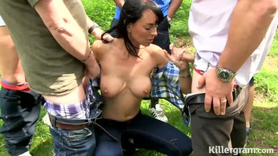 Killergram Leena Franks addicted to dogging cocks and cum