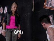 Beautiful Tattooed Milf Kayla Green gets tied up and Fucked Deep