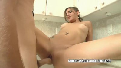 Horny housewife Kittie Deveah fucks hard and gets a facial