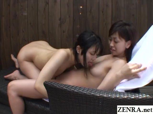 Jav/japan/lesbians outdoor oral subtitled japanese
