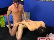 Mike Manchester slams the ass of an adorable Josh Bensan